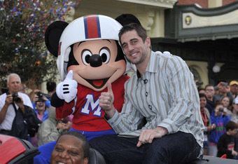 Green Bay Packers win the Super Bowl.  Aaron Rodgers goes to Disney, hangs out with mouse.  World continues to turn.