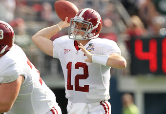 Greg McElroy:  Better than advertised