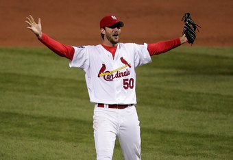 Adam Wainwright was a rookie replacement closer for the Cards' 2006 team.