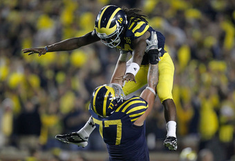 Denard Robinson and Michigan were on top of the world after beating Notre Dame on Sept. 10.