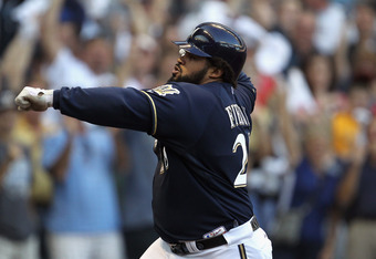 If the Brew Crew wins six more games this year, Fielder and others will have a lot to celebrate