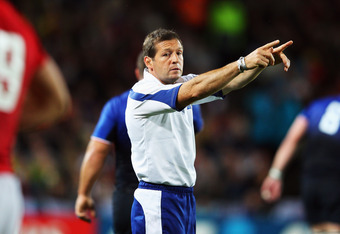 Alain Rolland, as with all test rugby referees, a nation's fate is in your hands