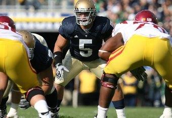LB Manti Te'o leads the Notre Dame defense