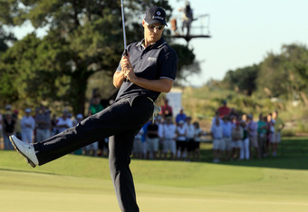 Ben Crane kept his balance and his eye on the ball winning the 2011 McGladrey's Classic on the Seaside Course.