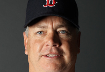 FT. MYERS, FL - FEBRUARY 20:  Curt Young #40 of the Boston Red Sox poses for a portrait during the Boston Red Sox Photo Day on February 20, 2011 at the Boston Red Sox Player Development Complex in Ft. Myers, Florida  (Photo by Elsa/Getty Images)