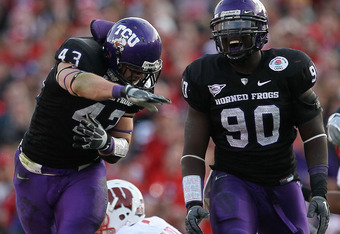 TCU dashes Wisconsin's Rose Bowl ambitions