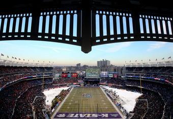 College football in the Big Apple at Yankee Stadium.