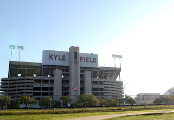 Kyle Field will host SEC games for the first time in 2012.
