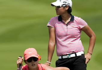 Yano Tseng got the best of Michele Wie in 2004 on the Green Course at Golden Horseshoe Golf Club. This picture is more recent.