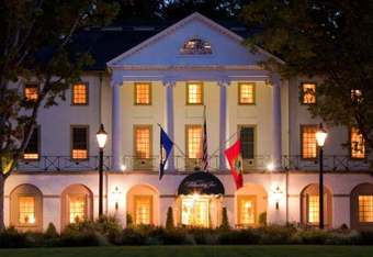 The Williamsburg Inn recently enlarged both guest rooms and bathrooms reducing the number from 100 to 62. Spectacularly appointed and luxurious.