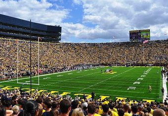 'The Game' Returns to the Big House, Nov. 26 (photo: Andrew Home)