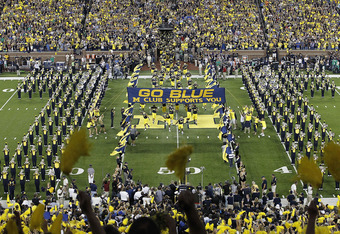 Michigan went to new FieldTurf in 2010