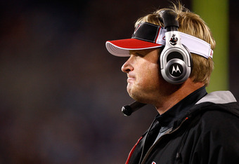 Gruden on the sideline...where he belongs.
