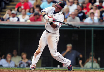 It doesn't seem likely that Michael Brantley can be a major league center fielder.