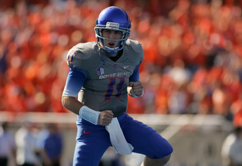 Any single loss should be enough to drop Boise State out of the picture.