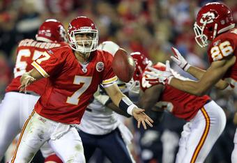 The Chiefs are winning despite Matt Cassel's poor play