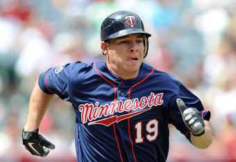 With Cuddyer gone, Danny Valencia (.246 average in 2011) would be the Twins' biggest threat from the right side of the plate.