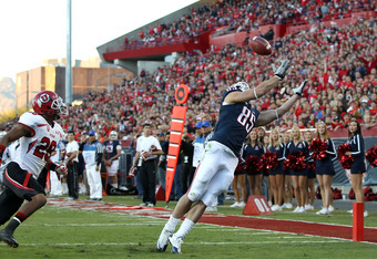 Foles to Douglas for Arizona's first touchdown of the day.