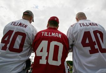 Fans will never forget Pat Tillman.