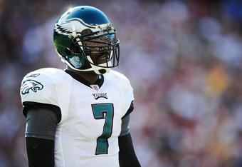 Michael Vick has found a lot of disappointment this season for the Eagles.
