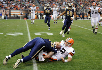 It's been a rough season for Cleveland's Colt McCoy