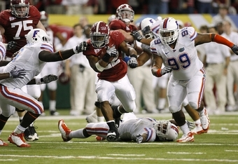 Florida couldn't handle Alabama in the 2009 SEC Championship Game