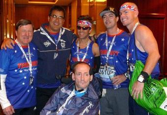 Members of the 2011 Team Hoyt Boston Marathon Team raised over $120,000 for the Hoyt Foundation