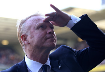 Alex McLeish: Still looking for the goal