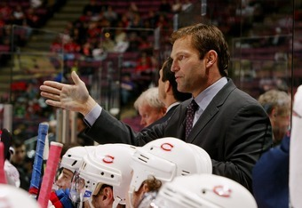 Kirk Muller, seen here as assistant coach of the Canadiens.