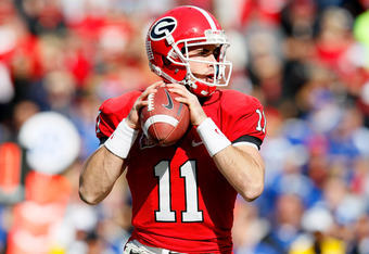 Aaron Murray has become one of the most efficient quarterbacks in the SEC. He will need to play the game of his life in order to knock of LSU.