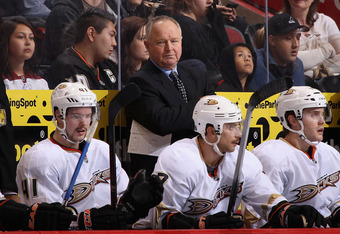 Randy Carlyle leaves the Anaheim Ducks organization holding just about every franchise record for a coach, including the most wins with 273.
