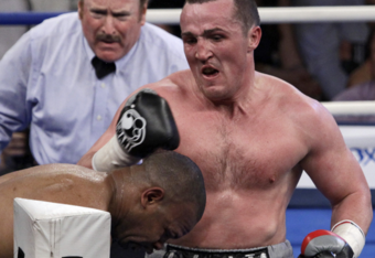 Referee Steve Smoger was one punch too late in the Denis Lebedev v Roy Jones fight.