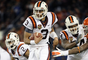 Logan Thomas hopes to improve on his performances against Clemson vs. Michigan Jan. 3