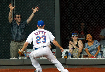Mets fans will now get to see much more of Mike Baxter and other career minor league players at Citifield, the only difference is that instead of the fans laughing, the front office will.