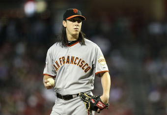 One game, the potential Marlins lineup against Lincecum, I'll bet on The Freak