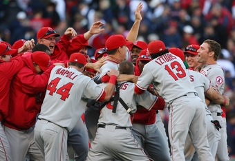 The Angels reversed their ways by beating the Red Sox in 2009.