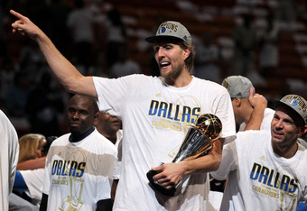 Dirk Nowitzki's Mavericks are one of five or six teams that entered last season as legitimate title contenders. They went on to win it all in 2011.