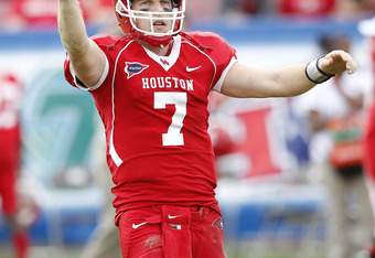 No one in college football history has passed more touchdowns than Case Keenum.