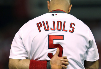 We will probably never see someone wear the No. 5 in St. Louis ever again