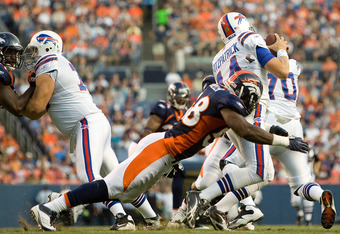 Von Miller doing what he does best; making plays for his defense.