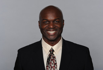 MIAMI, FL - CIRCA 2010: In this handout image provided by the NFL,  Todd Bowles of the Miami Dolphins poses for his 2010 NFL headshot circa 2010 in Miami, Florida. (Photo by NFL via Getty Images)