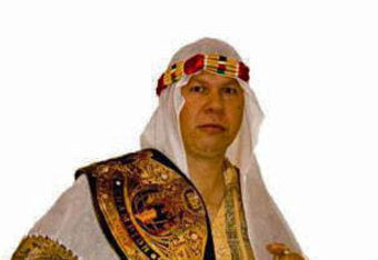 XWA superstar Shaheer Rasool's manager The Sheik