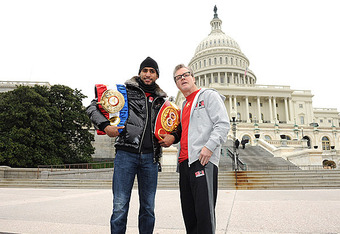 Khan thought he was doing Washington DC a favor by bringing boxing back to the Capitol.