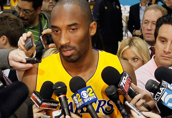 Kobe Bryant and the Lakers may find themselves answering some unusual questions this coming season.