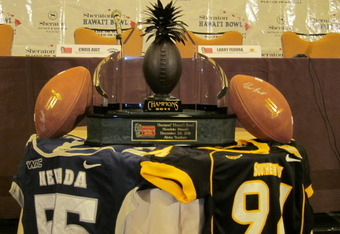 Southern Miss hopes to add the Sheraton Hawaii Bowl trophy to its Conference USA championship trophy to cap off the finest season in school history.
