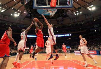 February 6, 2011 Philadelphia 76ers v New York Knicks