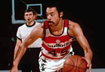 Former Bullets guard Phil Chenier scored more than 20 points a game three seasons.