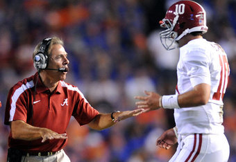 Under Saban's tutelage, McCarron's learned to stay calm. (Photo B'ham News)