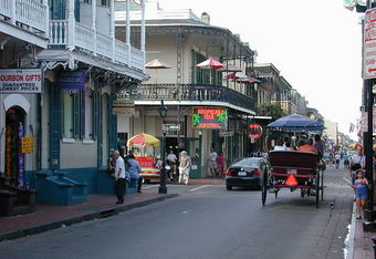 Bourbon Street, New Orleans (photo: Jan Kronsell)