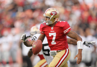 Kaepernick is an excellent runner, sometimes too much